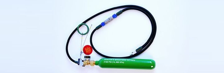 Emergency Oxygen Supply Bottle Kit for Aircraft Ejection Seats